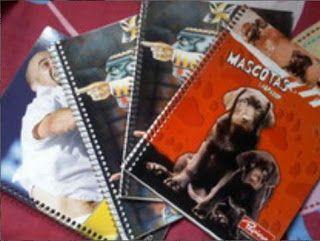 VCTRY's BLOG: Como hacer cuadernos reciclados (manualidad)