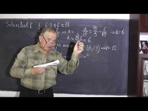 1/2 Lectia 189 - Test Examen Capacitate Geometrie spatiu Inductia - Matematica Proful Online - YouTube