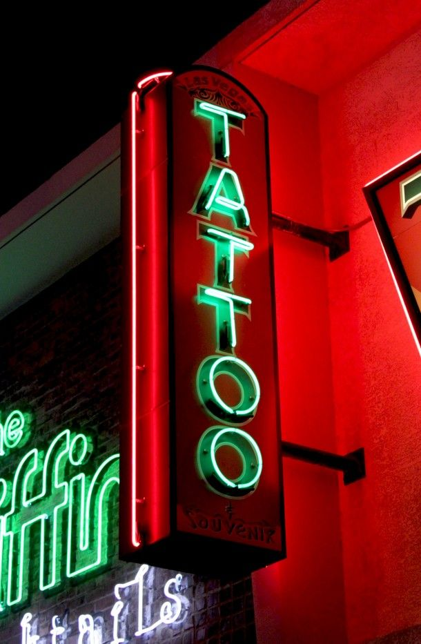 17 best images about las vegas on pinterest slot machine for Neon tattoo signs