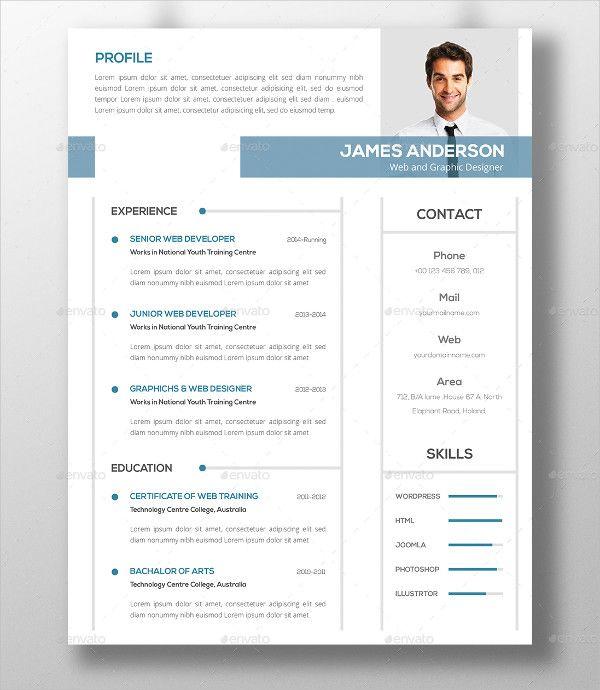 Resume Format Modern Modern Resume Template Resume Template