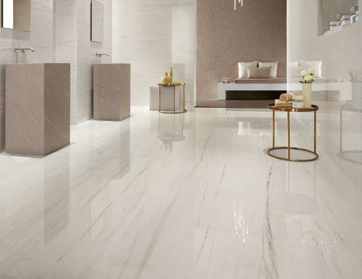 the beauty of this bianco dolomite porcelain tile is perfect if you want to have the same effect of the white marble with the advantage of the porcelain