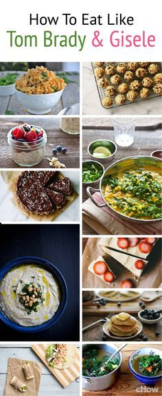 Meals that a super model and pro athlete eat! Tom Brady and Gisele have a strict diet, but they would approve of these 23 amazingly healthy recipes! From gluten free items to raw desserts, these healthy meals all have tons of flavor. Get the full list here: