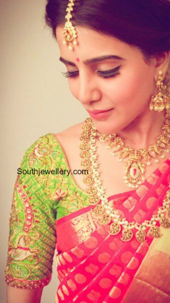 Samantha Prabhu in Traditional Jewellery photo