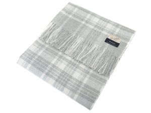 Campbell's of Beauly - Grey Cashmere Blanket