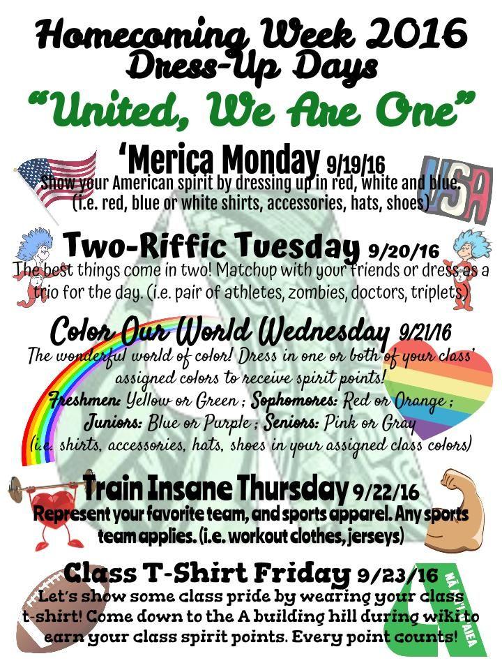 Aiea High School Student Activities School Spirit Week High School Homecoming Student Activities