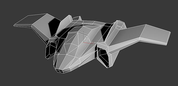 1000 Images About Low Poly Spaceship On Pinterest