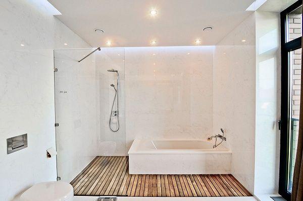 Łazienka w stylu skandynawskim – naturalna i elegancka - Łazienki - projekty, zdjęcia - łazienki na zamówienie, meble łazienkowe, armatura łazienkowa