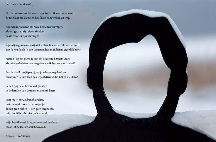 Wat een prachtig gedicht van Antonet van Tilburg: een onbewoond hoofd.