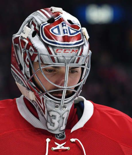 MONTREAL, QC - MARCH 25: Carey Price #31 of the Montreal Canadiens during the NHL game against the Ottawa Senators at the Bell Centre on March 25, 2017 in Montreal, Quebec, Canada. (Photo by Francois Lacasse/NHLI via Getty Images)