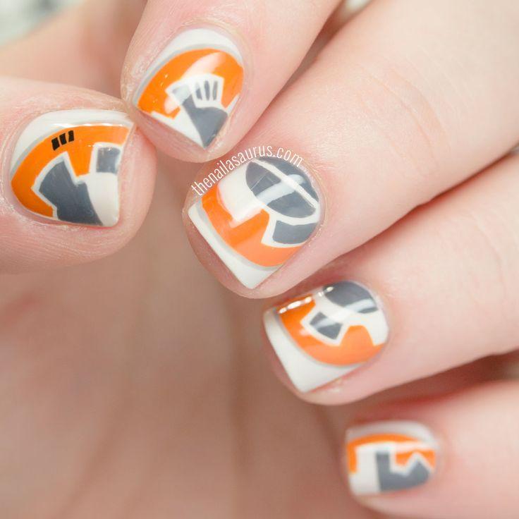 Star Wars Nail Art Ideas: Best 25+ Star Wars Nails Ideas On Pinterest