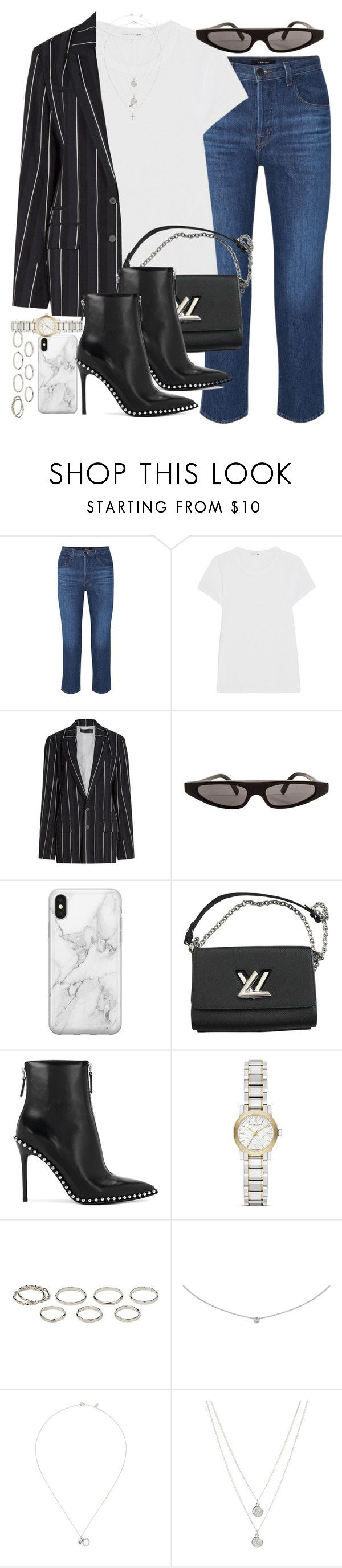 """""""Sin título #4630"""" by hellomissapple ❤ liked on Polyvore featuring J Brand, rag & bone, Haider Ackermann, Dolce&Gabbana, Recover, Louis Vuitton, Alexander Wang, Burberry, Akira and Cartier"""