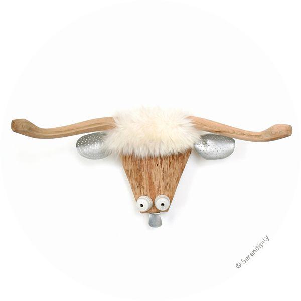 Trophée Mouton à grandes cornes de Fafa des Bois / Large horns sheep trophy by Fafa des Bois