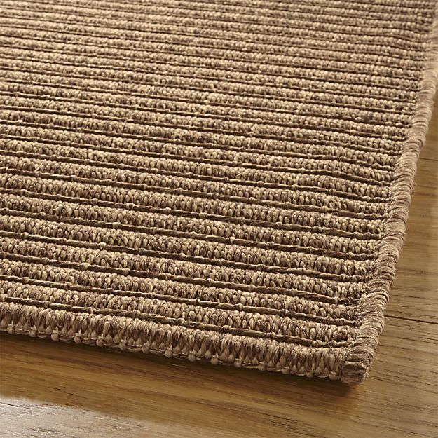Drift Brown Indoor Outdoor Rug | Crate And Barrel
