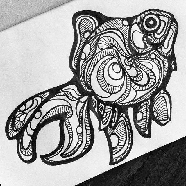 Best 25+ Black pen drawing ideas on Pinterest