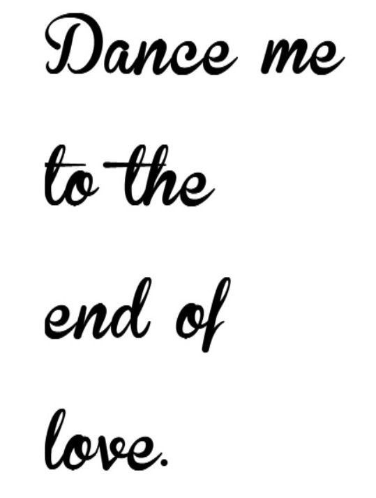 52 best Dance Me to the End of Love- Leonard Cohen Lyrics