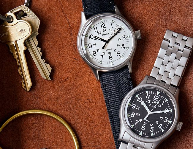 Timex and Todd Snyder Bring Back a Rare Military Watch