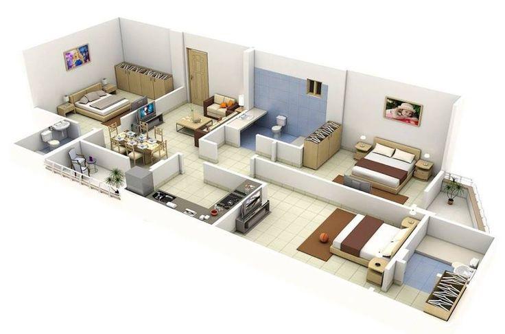 12 best ID Plan-draft images on Pinterest House blueprints, 3d - logiciel 3d maison gratuit