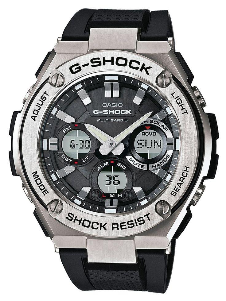 CASIO G-Shock Solar Radio-Controlled Watch GST-W110-1AER