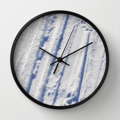 Wall Clock • 'Snøspor' • IN STOCK • $30.00 • Go to the store by clicking the item.