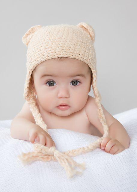 newborn bear cap crochet free