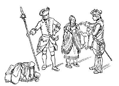 french and indian war coloring pages | 17 Best images about Historex on Pinterest | Shops ...