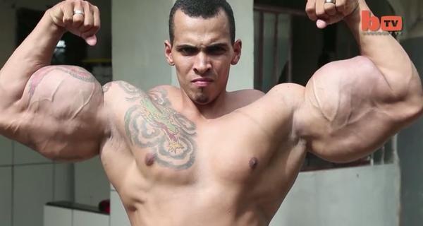 Romario Dos Santos Alves voleva diventare l'incredibile Hulk