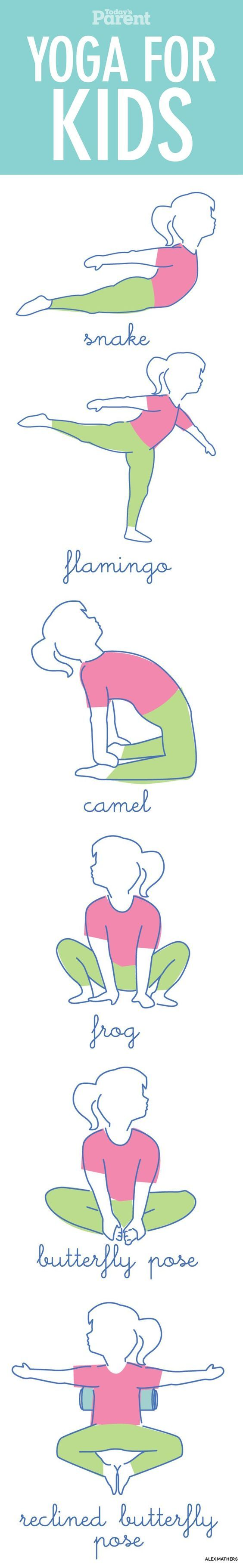 Yoga for kids How to calm little minds