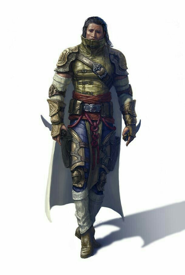 Male Human Rogue - Pathfinder PFRPG DND D&D d20 fantasy in ...