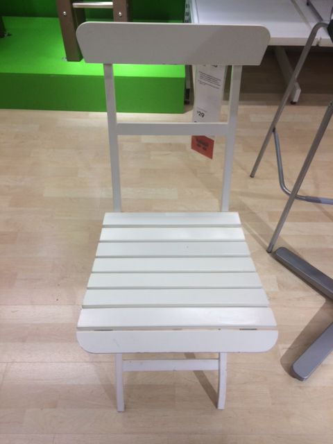 lightweight white folding chairs available at ikea