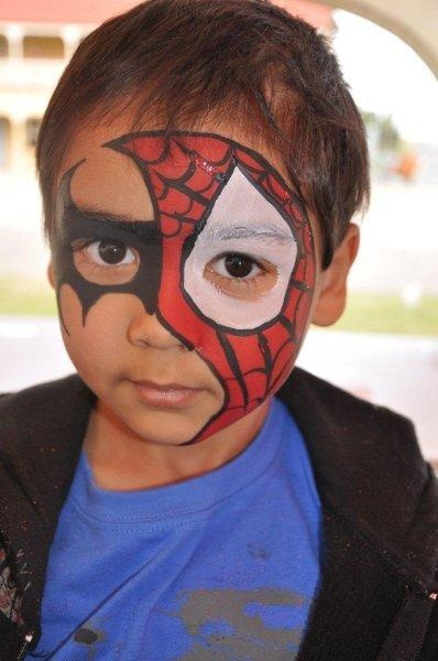 Spidy - CHEEKY FACES FACE PAINTING - Brisbane & Gold Coast