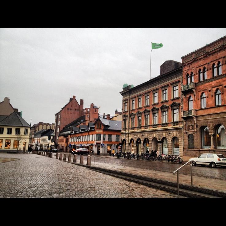 Downtown Lund Sweden