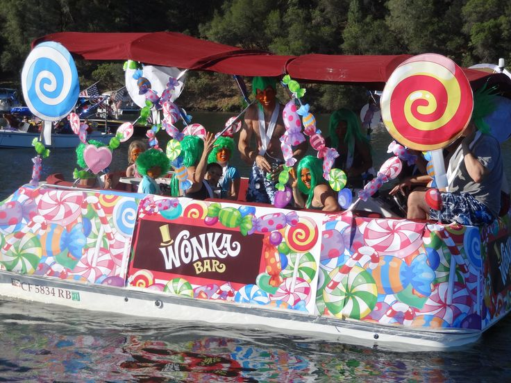 willy wonka boat - Google Search | Willy Wonka & The ...