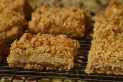 This Lemon Bar combines a tangy sweet lemon filling with an oatmeal crust. From Joyofbaking.com With Demo Video