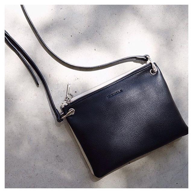 Black and cream combo @minutiae_au #Minutiae #Inthedetails #customisable #leather #shadow www.minutiae.com.au