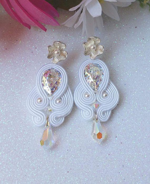 Soutache earrings Romance