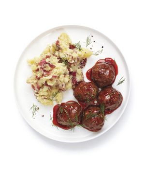 Get the recipe for Glazed Meatballs.