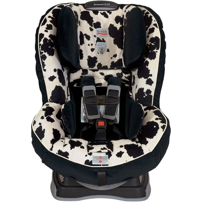 britax boulevard 70 cs car seat in cowmooflage cow print car seats and babies. Black Bedroom Furniture Sets. Home Design Ideas