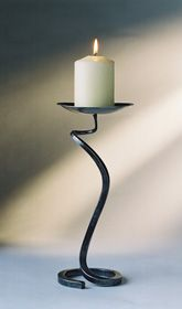 An individually hand crafted candle holder, using traditional methods handed down through many generations.