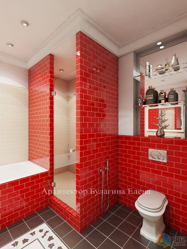 Фотографии [246845]: Интерьер ванной комнаты от архитектора Елена Булагина