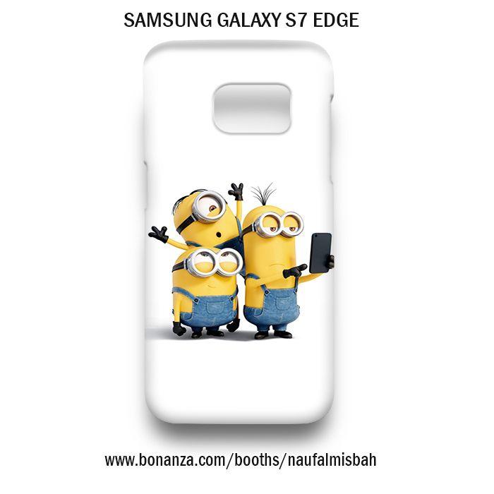 Selfie Despicable Me Minion Samsung Galaxy S7 EDGE Case Cover