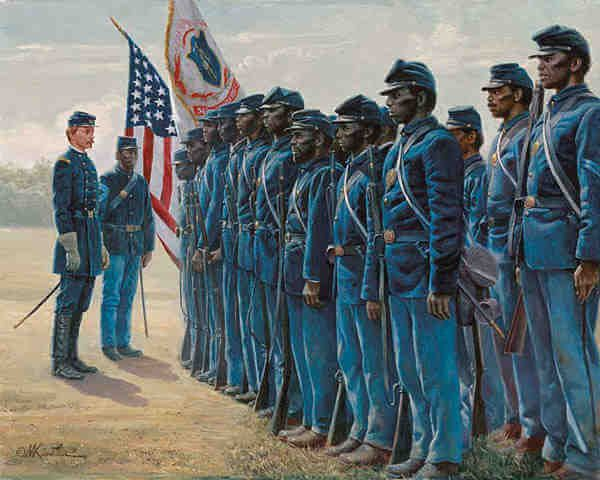 1st Minnesota Volunteer Infantry Regiment American Civil War 11 X 14 Print
