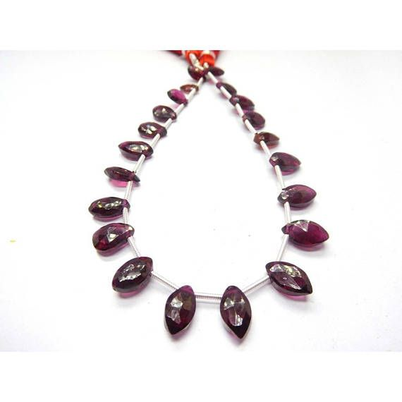 Loose Stone Beads Craft Supply Faceted Marquise Shape Red Garnet Earth Mined Gemstone 8 Strand by BeadsncrystalsStudio https://www.etsy.com/listing/583760919/loose-stone-beads-craft-supply-faceted?ref=rss&utm_campaign=crowdfire&utm_content=crowdfire&utm_medium=social&utm_source=pinterest