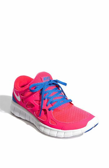 Nike 'Free Run 2+' Running shoe for women. on shopittome.com for $59.90! also comes in deep grey w/ blue laces, black w/ purple laces, and white w/ grey laces. shopittome.com people!
