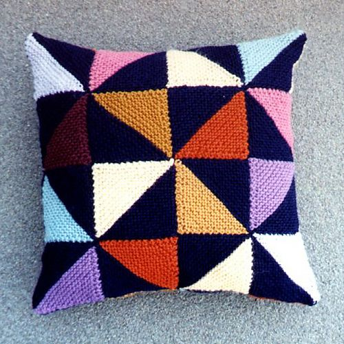 Ravelry: Cushion: Tilting at Windmills pattern by Woolly Thoughts
