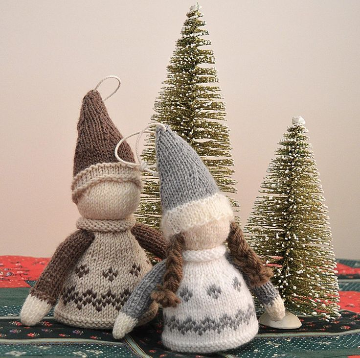 Nordic Christmas Ornament - P080 Knitting pattern by OGE Knitwear Designs | affiliate