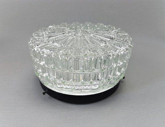 Plafoniere Vintage : Ceiling lamp plafoniere glass lampshade ersaztglas