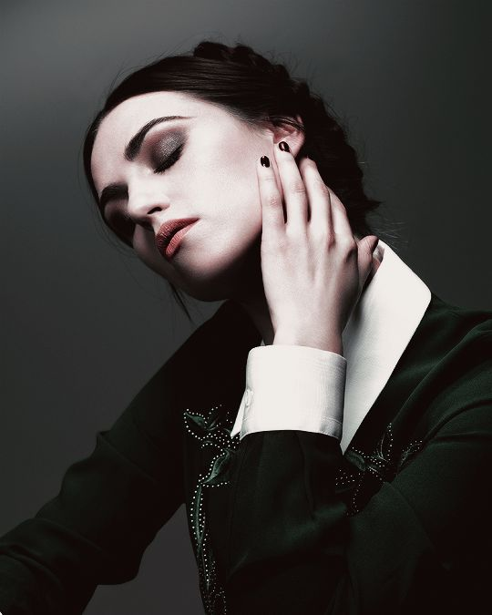 "misspendragon: ""I wasn't born an actress, but I was certainly born dramatic."" — Katie McGrath"