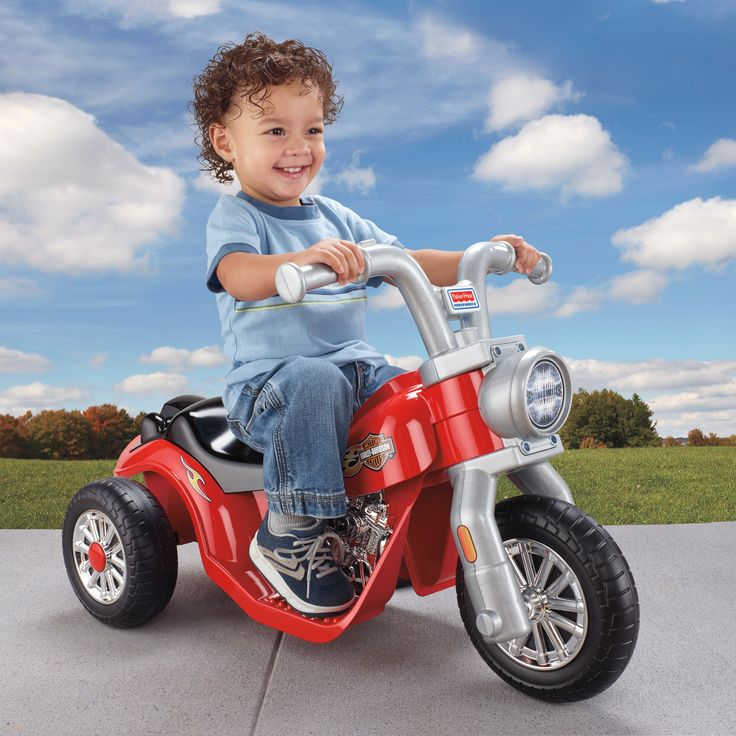 Have to have it. Fisher-Price Power Wheels Lil Harley Motorcycle Battery Powered Riding Toy - $103.99 @hayneedle