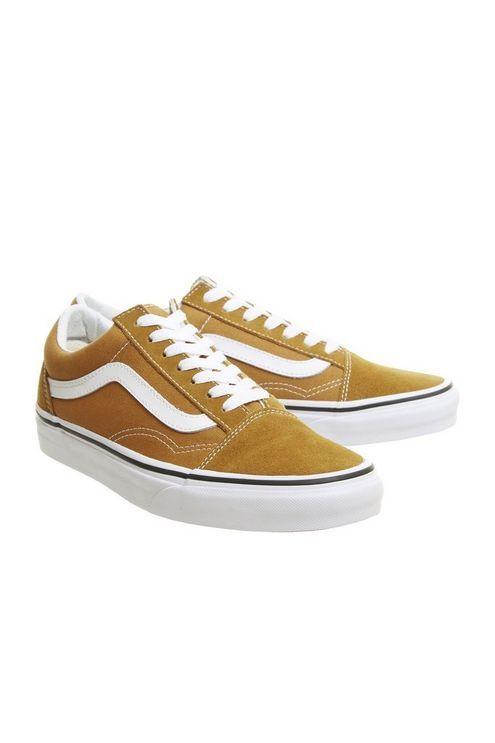 f004685b62389b Womens   Vans Old Skool Trainers by Office - Brown