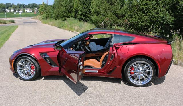 pics 2016 corvette z06 in new long beach red corvettes pinterest colors corvettes and long beach - 2016 Corvette Stingray And Z06 Spice Red Design Package